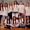 בנות נבחרת הכדורסל של תיכון קרית שרת זכו במקום ה-14 באליפות העולם
