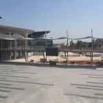 תמונה מרחוק על המתחם החדש