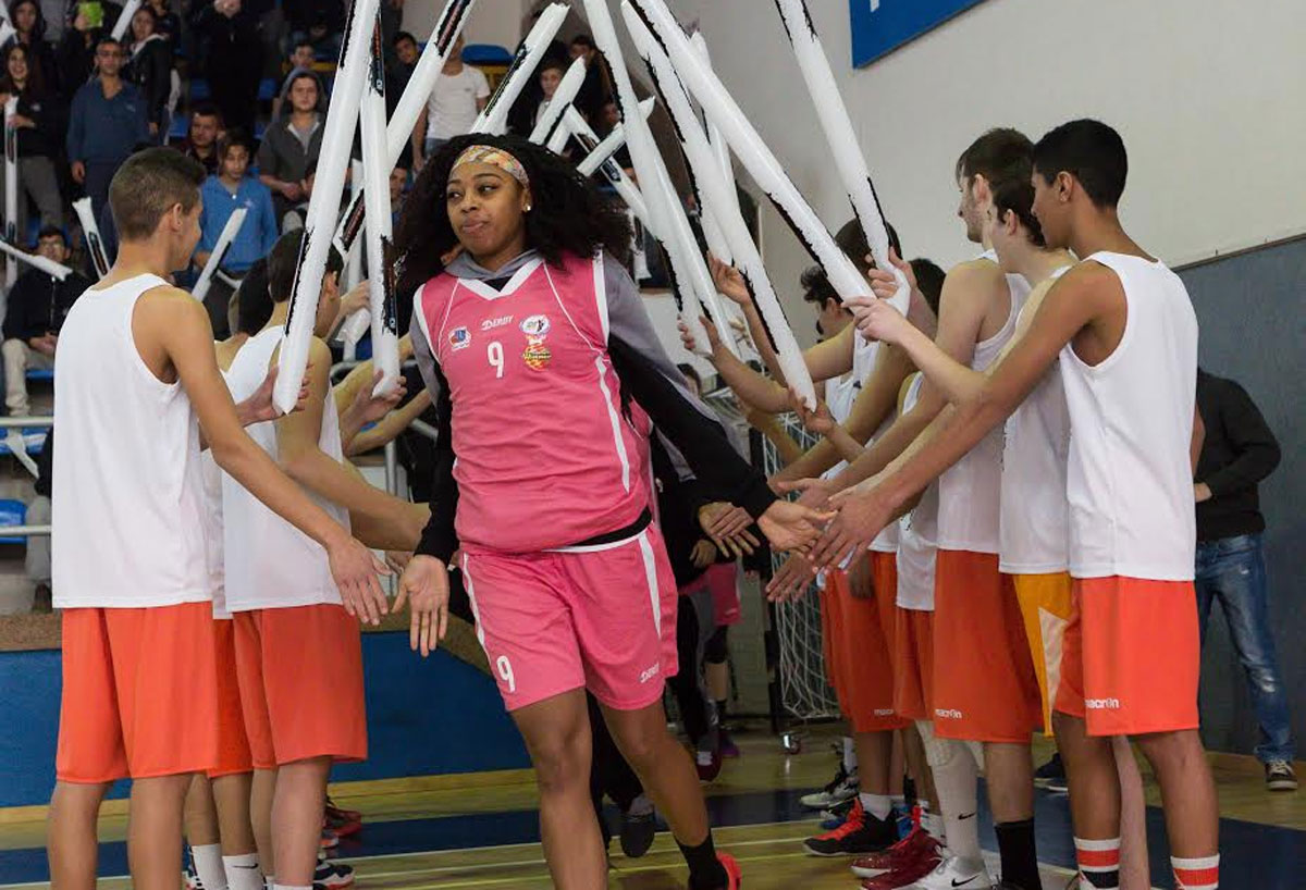 קבוצת הכדורסל אליצור חולון התארחה באור יהודה