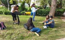 צילומי סרט דוקומנטרי על אידאל היופי בקרב בני נוער