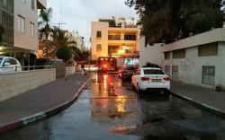 מבזק: שריפה ברחוב ארלוזורוב