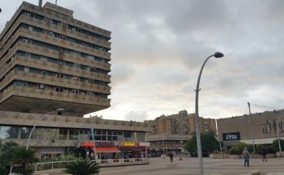 כיכר סירן בצל השקיעה