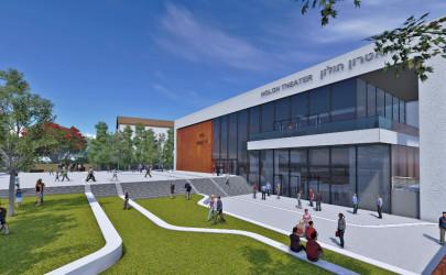 תיאטרון חולון יחל לפעול במשכנו המחודש בספטמבר 2017