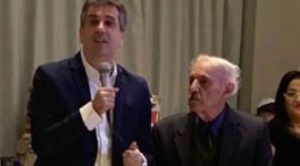 שר הכלכלה אלי כהן באירוע בר מצווה מיוחד ל-15 נערים בחולון