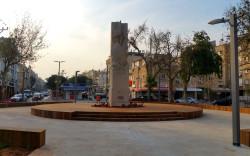 כיכר סטרומה בחולון מתחדשת