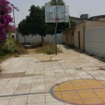 מגרש הכדורסל בבריכת הפועל