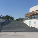 המדרגות של מתחם לה פארק בחולון