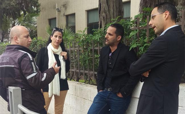 פעילות להגברת הביטחון בגנים ברחוב שטרוק. צילום: שוקי בן יוסף