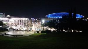 היכל הספורט מתחם לה פארק מואר בלילות הקיץ