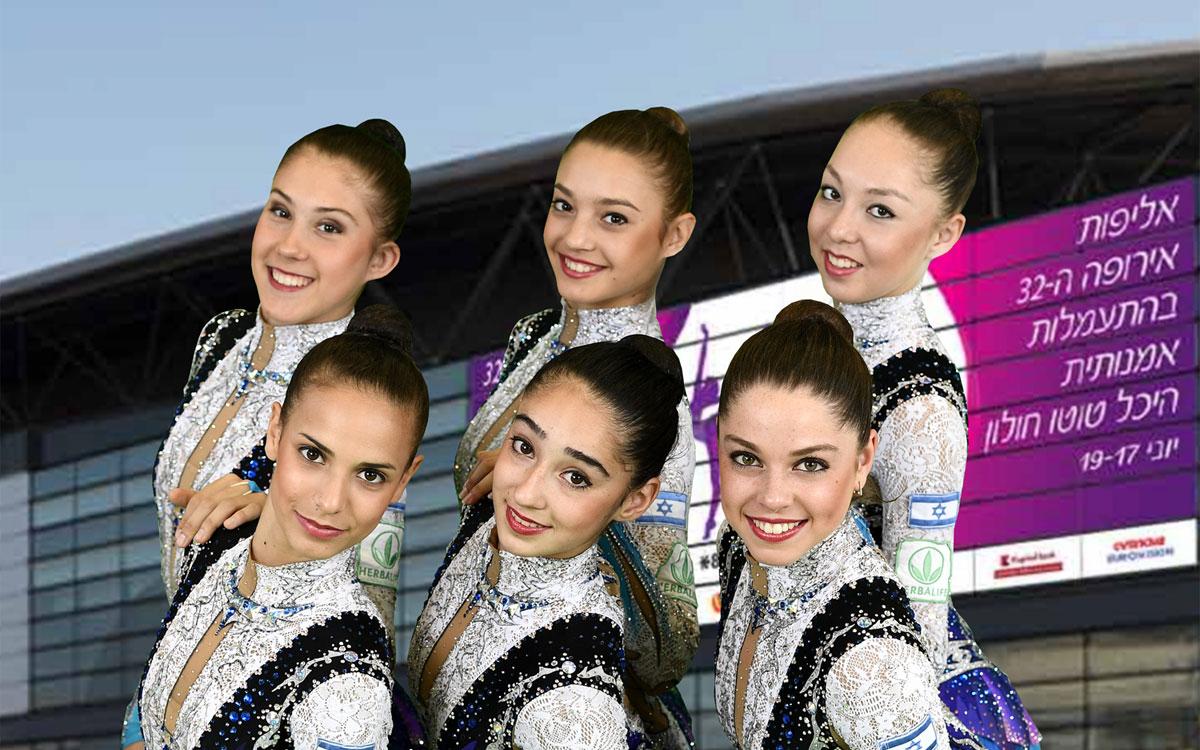 נבחרת ישראל בהתעמלות אמנותית. צילום: עמית שיסל