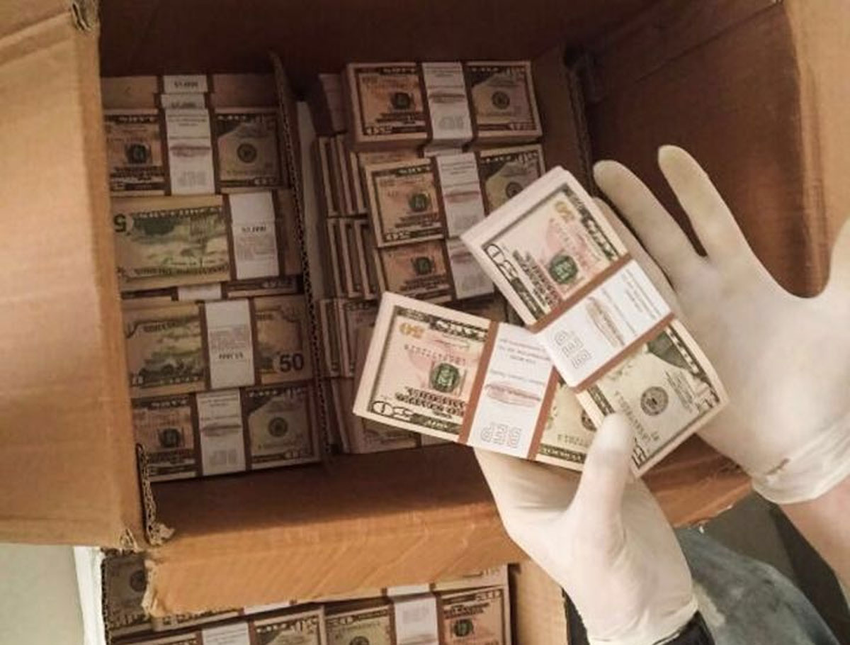 בדירה בחולון נתפסו למעלה מ-600,000 דולרים החשודים כמזויפים