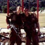 מיקאל בוזגלו במהלך שירותו הצבאי. צילום: פרטי