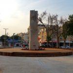 כיכר סטרומה החדשה בחולון. צילום: יואב בן פורת